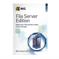 AVG File Server Edition 2012 - Subscription license ( 1 year ) - 25 connections - download - Win