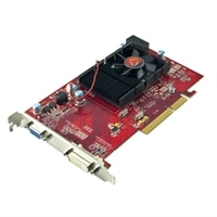 ATI Radeon HD 3450 512MB DDR2 AGP graphics card