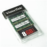 VisionTEK 8 GB (2x4GB) 1600 MHz 204-Pin SODIMM DDR3 Memory Module
