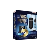 Roxio Easy VHS to DVD Plus - ( v. 3 ) - complete package - 1 user - Win - English