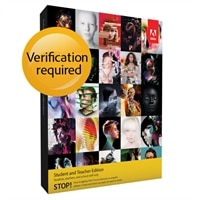 Adobe Creative Suite 6 Master Collection for Windows - Student and Teacher Edition
