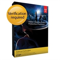 Adobe Creative Suite 6 Production Premium for Windows - Student and Teacher Edition