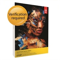Adobe Photoshop Creative Suite 6 Extended for Windows - Student and Teacher Edition