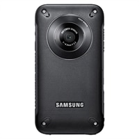 Samsung HMX-W300 5 MP HD Waterproof/Shockproof Pocket Camcorder - Black