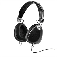 Skullcandy Aviator Black Headphone with Mic