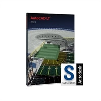 Autodesk AutoCAD LT 2013 with Subscription