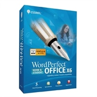 Corel WordPerfect Office X6 - Home and Student Edition