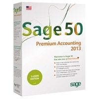 Download  Sage Software 50 Premium Accounting 2013 - Complete package - 3 users  Windows