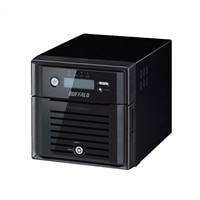 BUFFALO TeraStation 5200 - NAS server - 2 TB - SATA 3Gb/s - HDD 1 TB x 2 - RAID 0, 1, JBOD - Gigabit Ethernet - iSCSI