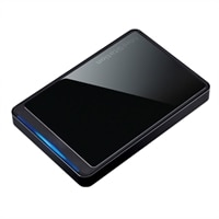 Buffalo MiniStation Stealth External Hard Drive - 1 TB USB 2.0 Black Portable Drive