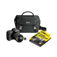 Nikon D7000 Black 16.2 MP Digital SLR Camera with AF-S DX Nikkor 18-200 mm f/3.5-5.6G ED VR Lens Kit