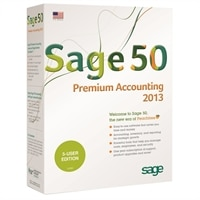 Download – Sage Software 50 Premium Accounting 2013 - Complete package - 5 users – Windows