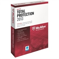 McAfee Total Protection 2013 - Subscription license ( 1 year ) - 3 PCs - download - Win - English