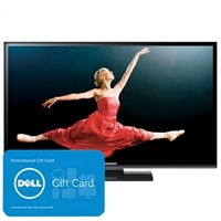 Samsung Series 4 43-inch Plasma TV - PN43E450 720p Slim HDTV with $50 PROMO eGift Card