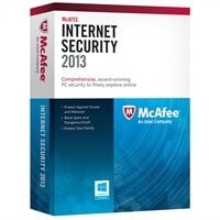 McAfee Internet Security 2013 -  3 PCs