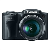 Canon PowerShot SX500 IS 16 MP 30X Zoom Digital Camera