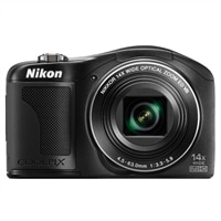 Nikon COOLPIX L610 Black 16.0 MP 14x Wide Optical Zoom Digital Camera