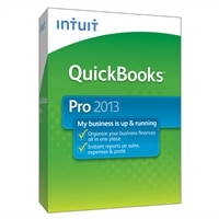 Intuit QuickBooks Pro 2013 - Complete Package - 1 User - CD - Win