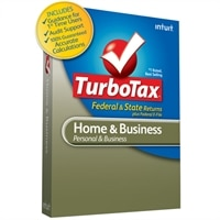 Intuit Download - TurboTax Home & Business FS WIN TY2012 (with state)