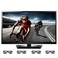 LG 47-inch LED LCD TV - 47LM4600 1080p 120Hz Cinema 3D HDTV with 4 Pairs of 3D Glasses