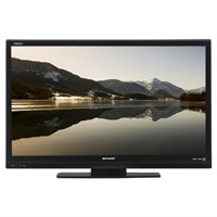 Sharp LC 39-inch Class ( 38.6-inch viewable ) Aquos LED-backlit LCD TV - 1080p (FullHD) - edge-lit - black - 39LE440U