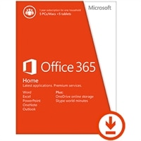Download - Microsoft Office 365 Home 1 Year Subscription