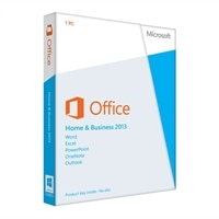 Microsoft Corporation Office Home and Business 2013 - License - 1 PC - Win - English