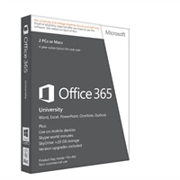 Microsoft Corporation Office 365 University - English -Windows -32/64 Bit