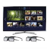 Samsung 55-inch LED Smart TV - UN55F6400 3D HDTV with 2 Pairs of 3D Active Glasses