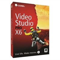 Corel Corporation Video Studio PRO X6 English Mini-Box lincense