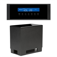 FRONT ROW SYS 8210 -Soundbar System with Wireless Subwoofer and Smartphone/MP3 Player Compatibility