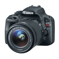 Canon EOS Rebel SL1 18.0 MP Digital SLR Camera with EF-S 18-55mm IS STM lens