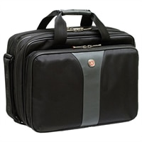 Swiss Gear Legacy Checkpoint Friendly Double Gusset Computer Case - Fits Laptops with Screen Sizes Up to 14.1-inch
