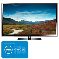 Samsung PN64E533D2 60 inch 1080p 600Hz Plasma HDTV with Smart TV, Built-in Wi-Fi, Slim Depth Design