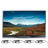SAMSUNG Samsung 64-inch Plasma Smart TV - PN64F8500AFXZA 3D HDTV with Camera and 4 pairs of 3D Glasses
