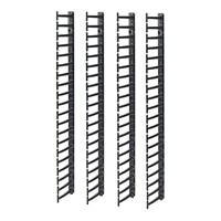 AMERICAN POWER CONVERSION APC - Rack cable management kit (vertical) - black - 20U (pack of 4 )