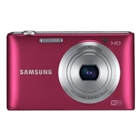 Samsung ST150F Compact - 16.2MP Smart Camera - Red