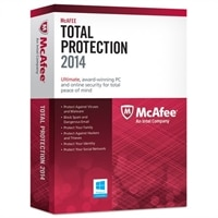 McAfee Total Protection 2014 (3 PCs)