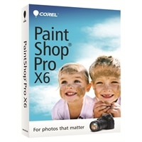 Corel PaintShop Pro X6 - Box pack - 1 user ( mini-box ) - Win - English