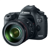 CANON Canon EOS 5D Mark III 22.3 MP Digital SLR Camera with 24-105 mm IS Lens