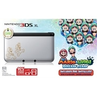 Nintendo 3DS XL - Silver Mario & Luigi Edition - handheld game console - silver - Mario & Luigi: Dream Team