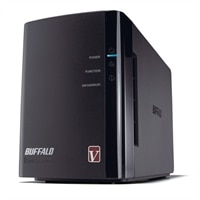 Buffalo Technology BUFFALO LinkStation Pro Duo 2-Bay Diskless Enclosure Network Attached Storage (NAS) - LS-WVL/E