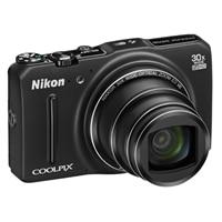 NIKON Nikon Coolpix S9700 16.0 MP Compact Camera - Black