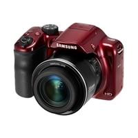 SAMSUNG Samsung SMART Camera WB1100F Point & Shoot Camera 35x Optical Zoom 16.2 Megapixel - red