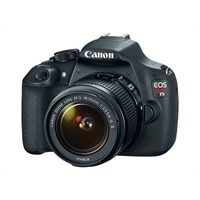 Canon EOS Rebel T5 18 Megapixel DSLR EF-S 18-55mm IS II lens
