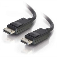 CABLESTOGO C2G 6ft Displayport Cable With Latches M/M - Black