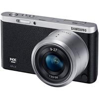 SAMSUNG Samsung NX mini 20.5 MP Digital SLR SMART Camera with NX-M 9-27mm lens