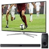 Samsung 65 Inch LED Smart TV UN65H6350 HDTV bundle with FREE HW-F355 Wired Sub-Woofer