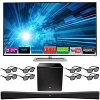 "VIZIO 70"" Full HD 3D LED HDTV Bundle"