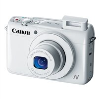 CANON Canon PowerShot N100 5X Optical Zoom 12.1 Megapixel Point and Shoot Camera - White